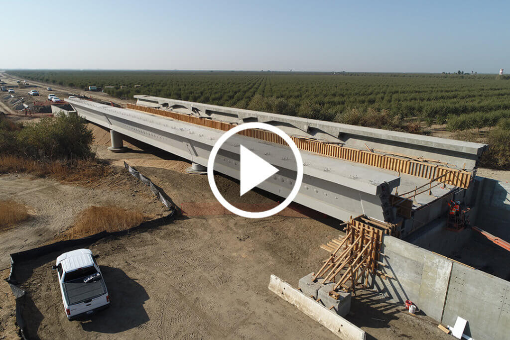 Image of poso creek viaduct. click image for video