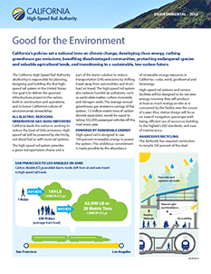 Good for the Environment Cover