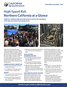 Northern California at a Glance Cover