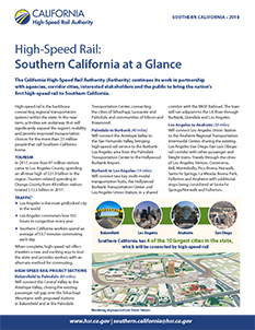 Southern California at a Glance Cover