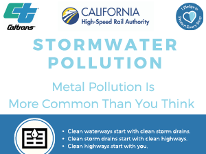 Stormwater Pollution. Metal pollution is more common than you think. Metal Pollution