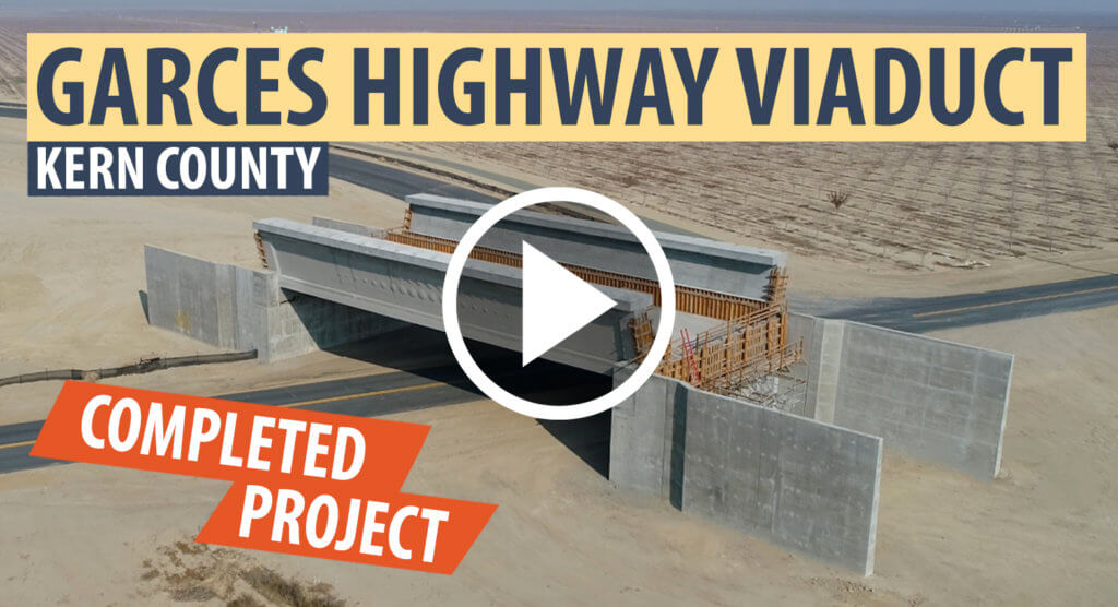 Video player for Garces Highway Viaduct drone footage